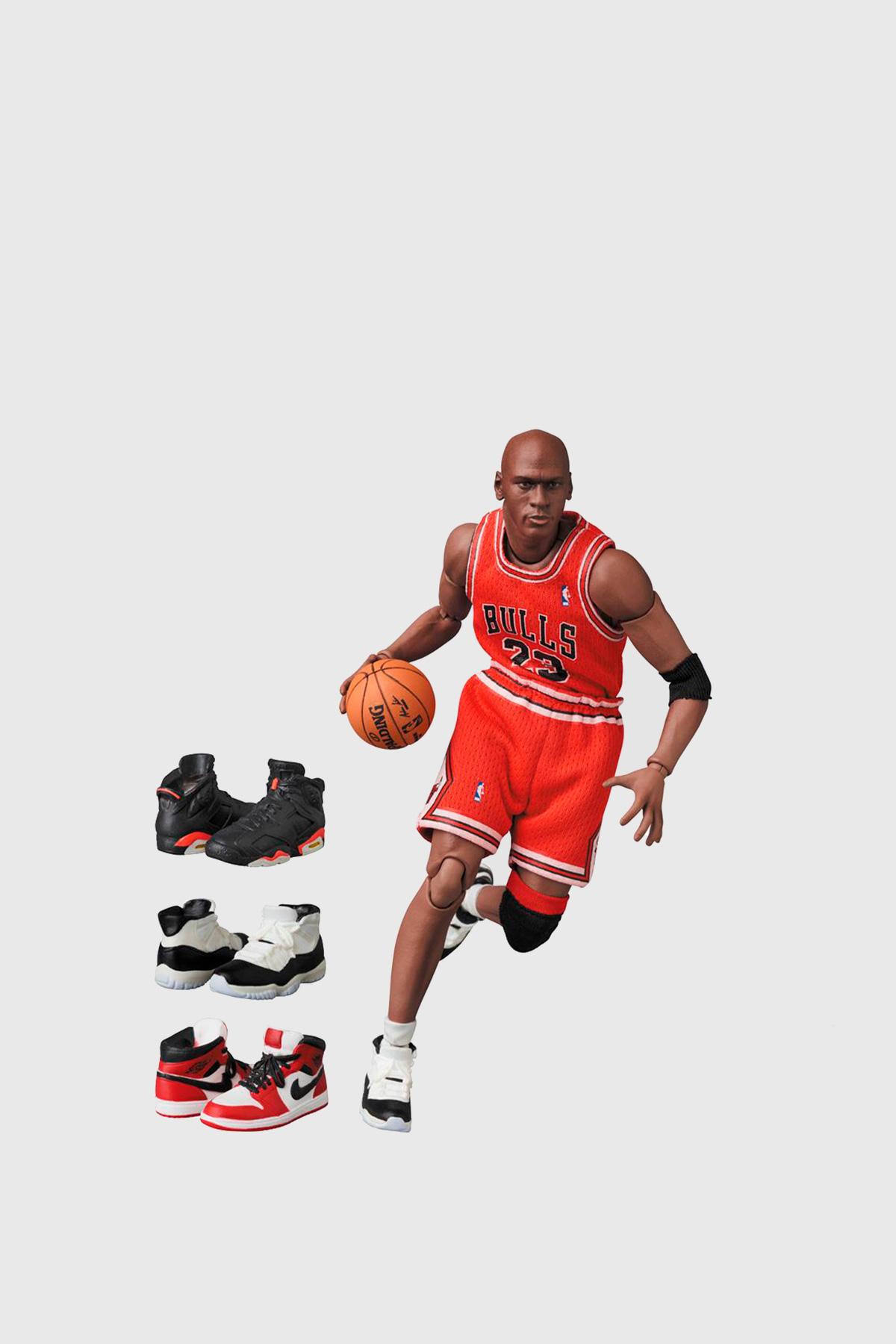 Viaje Lograr Shetland  Wood Wood - Mafex Michael Jordan - Chicago Bulls